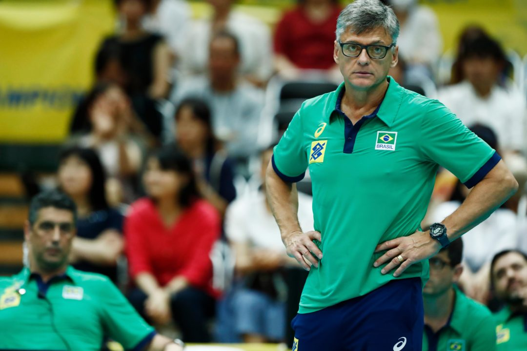Coach Renan Suspended By The FIVB For Brazil's Game Against Team USA