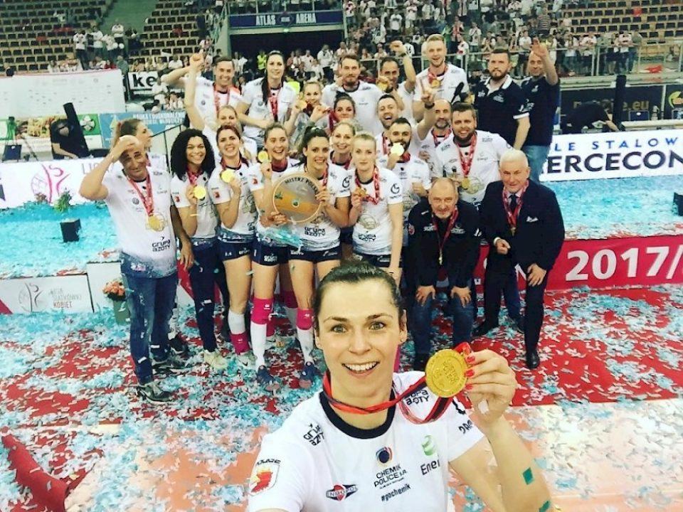 Abbondanza Praised As Chemik Police Wins Its 5th Straight Polish Title