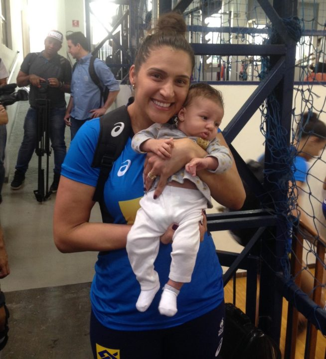 With Newborn Baby Lara At Her Side, Dani Lins Joins Brazil's NT