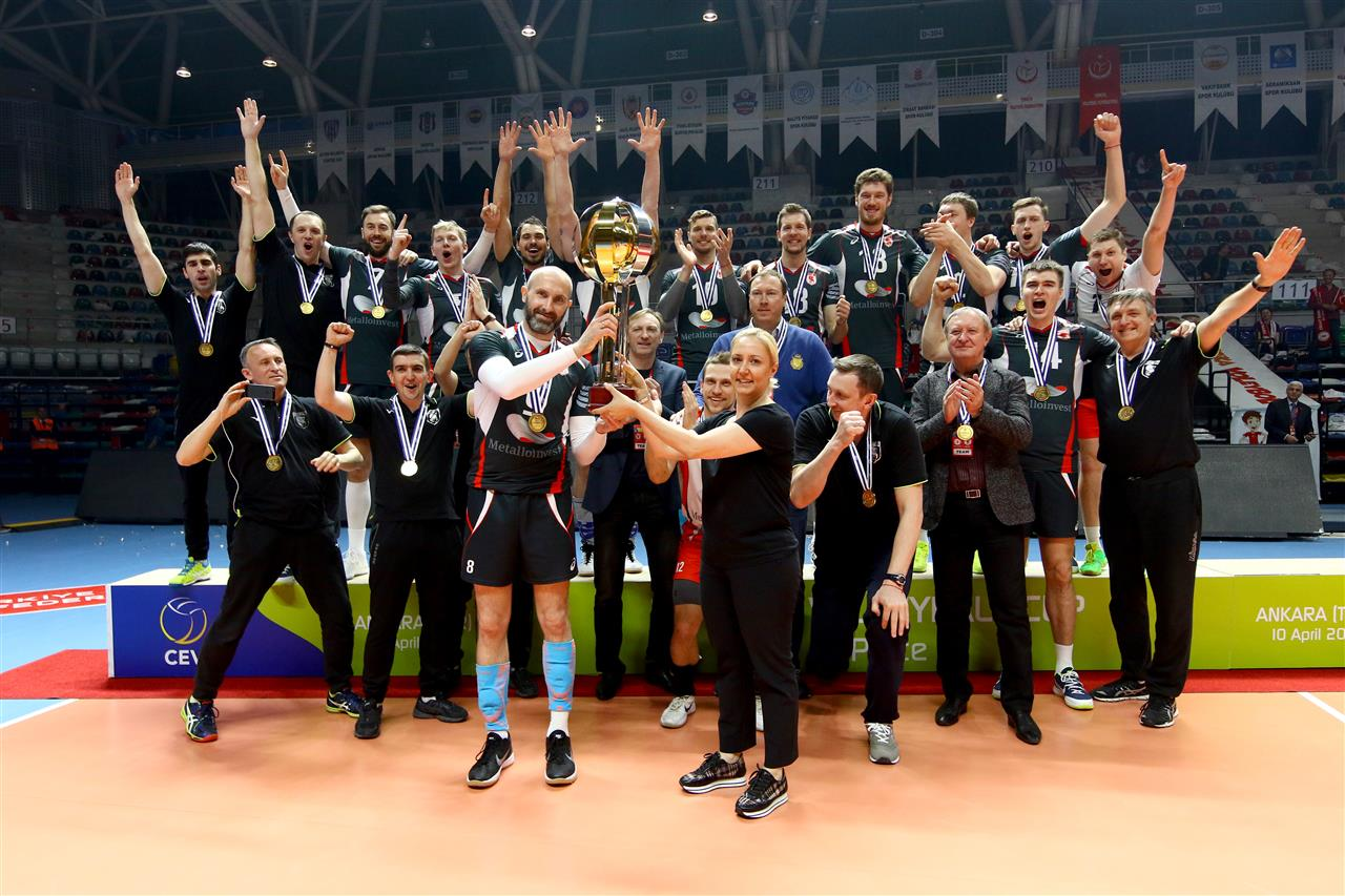 Belgorod Battles Back from 0-2 Hole to Take 2018 CEV Cup Title