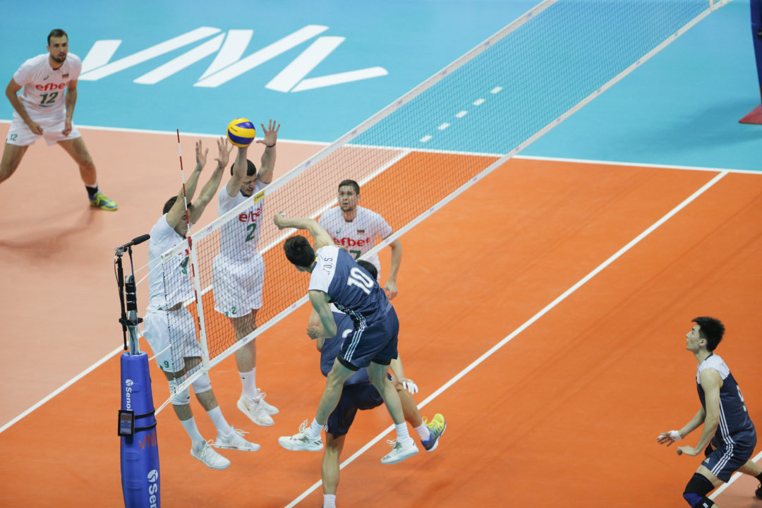 Bulgaria Overcomes Errors for Five-Set Win over China in #VNL Pool 2