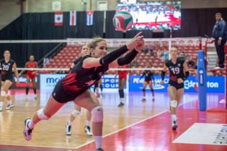 NORCECA Women's Challenge Cup: Puerto Rico & Canada Get First-Day Sweeps