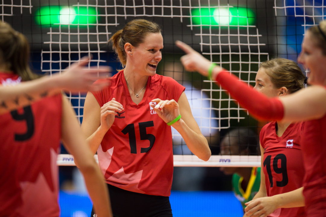 Canadian Rebecca Pavan Retires from Volleyball