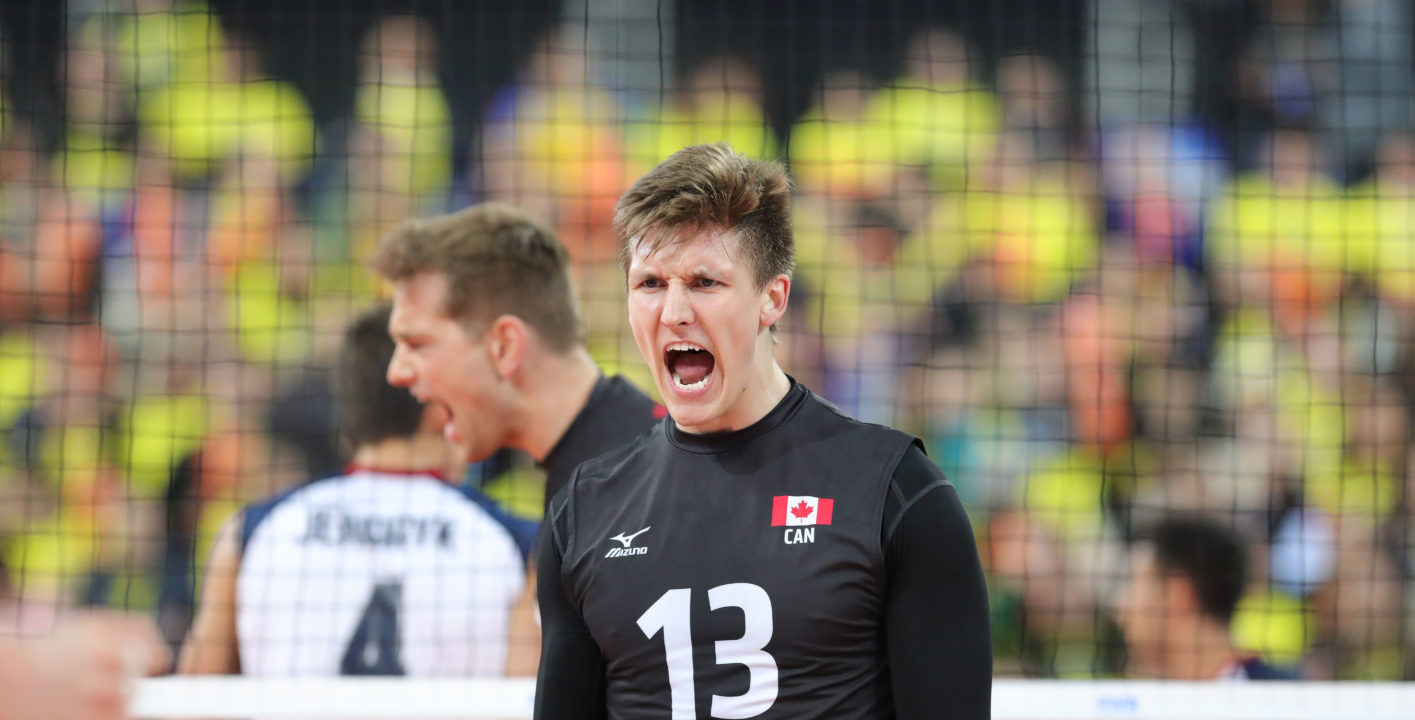 Team Canada's And Civitanova's Ryley Barnes Suffers Serious Injury