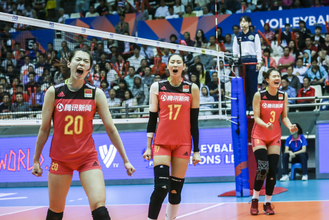 Serbia, China Win Tight Four-Setters in #VNL Pool 7