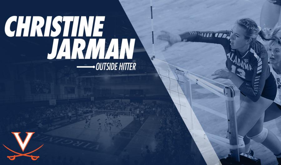 Virginia Tacks on Christine Jarman From Alabama Via Transfer