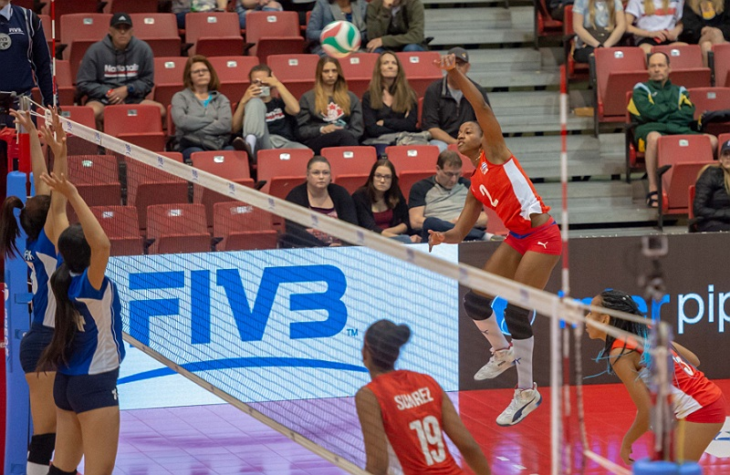 NORCECA Women's Challenge Cup: Cuba Outscores Nicaragua 75-32