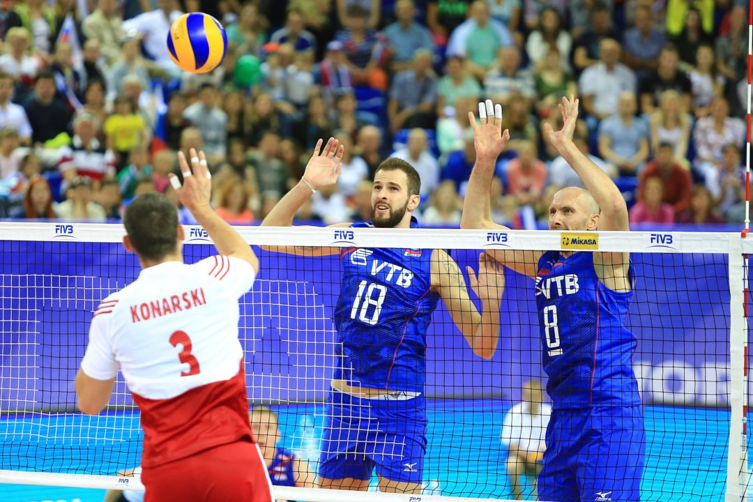 Olympic Champion Alexander Volkov Re-Signs With Zenit St. Petersburg