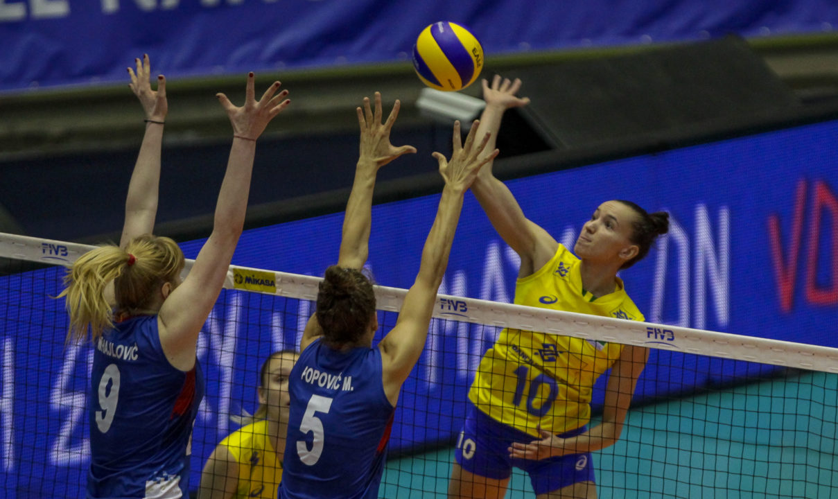"Brazil ""Upsets"" Serbia, Japan Beats Germany – VNL Pool 4 Day 3 Recap"