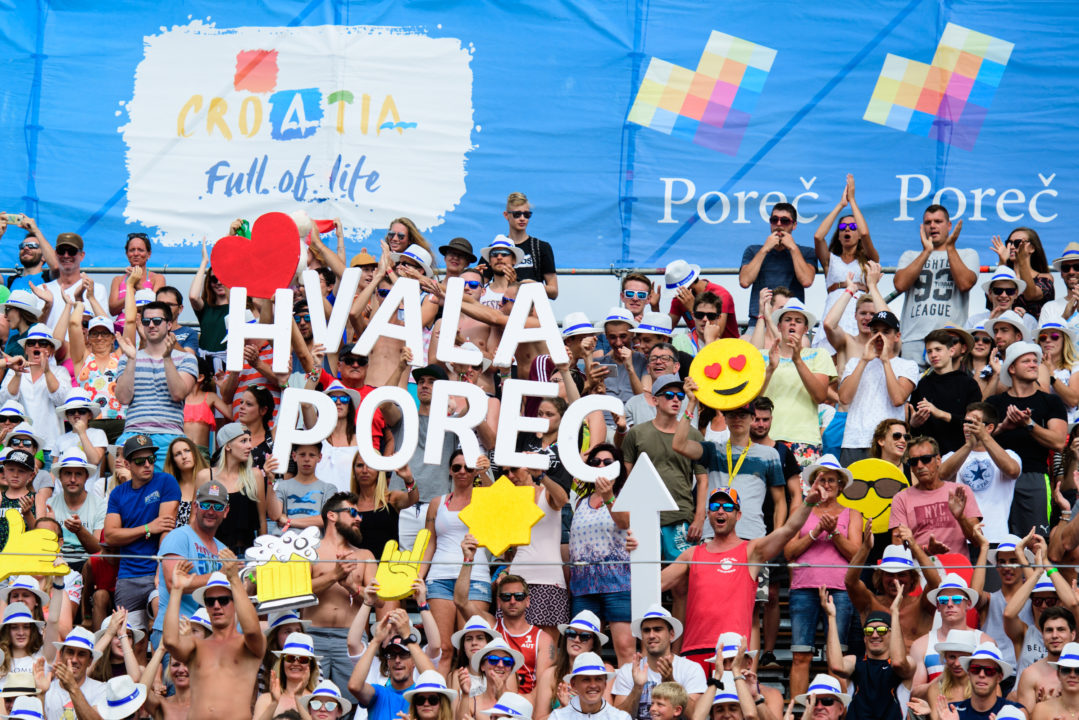 Porec Added to FIVB World Tour Schedule, But Only as 1-Star