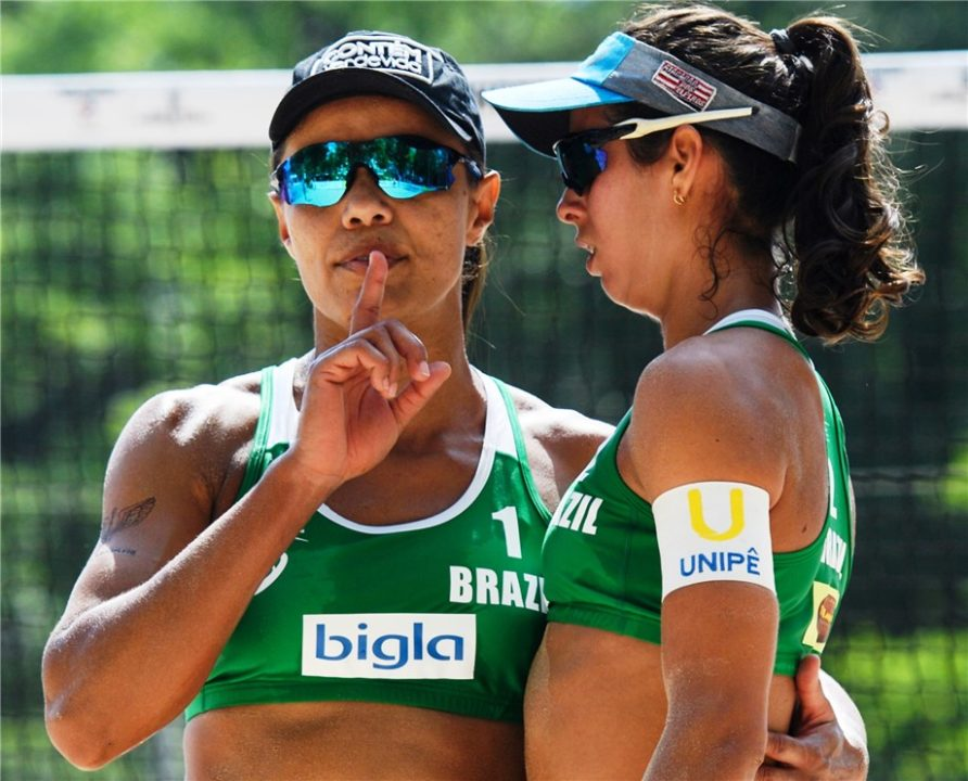 8x FIVB World Tour Winner, Juliana On Mission To Tutor Young Teammate