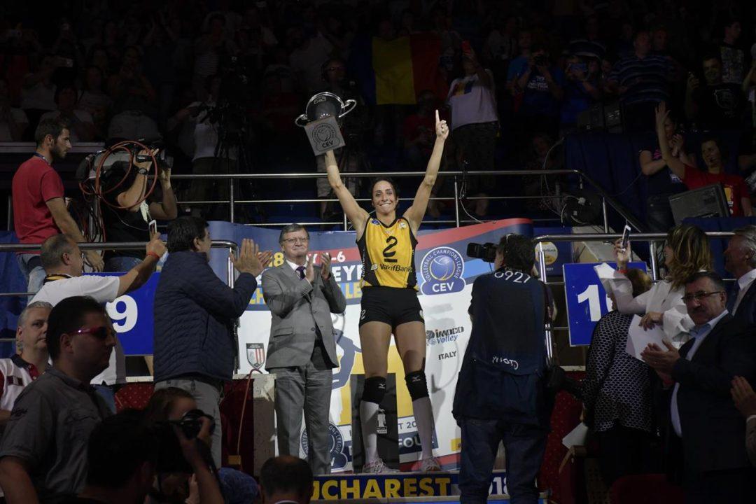 Gozde Kirdar Named MVP of 2018 Women's Champions League