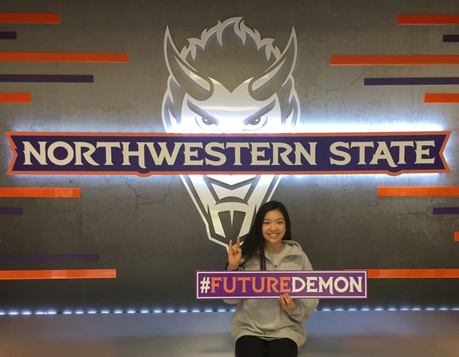 Class of 2019 DS/L Haley Hoang Commits to Northwestern State