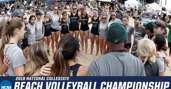 Hawaii Gears Up for NCAA Beach Championship