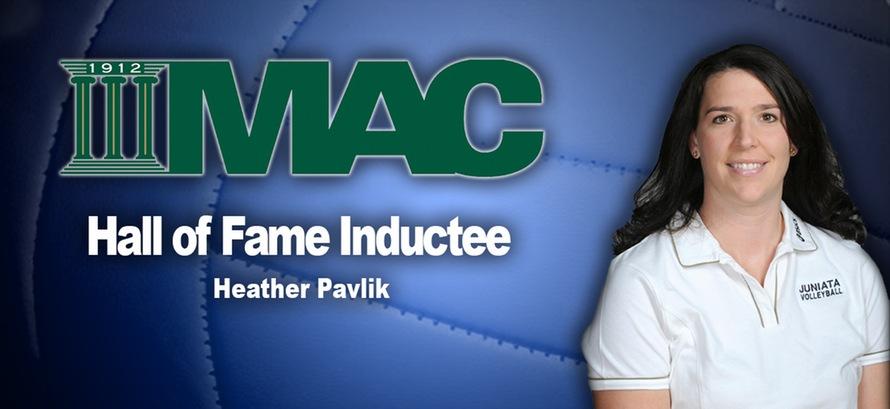 Juniata's Pavlik Named to Middle Atlantic Conference Hall of Fame