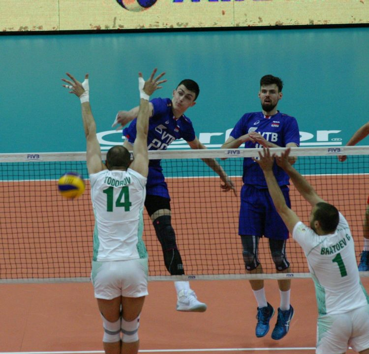 Russia Defeats Bulgaria in Men's Friendly