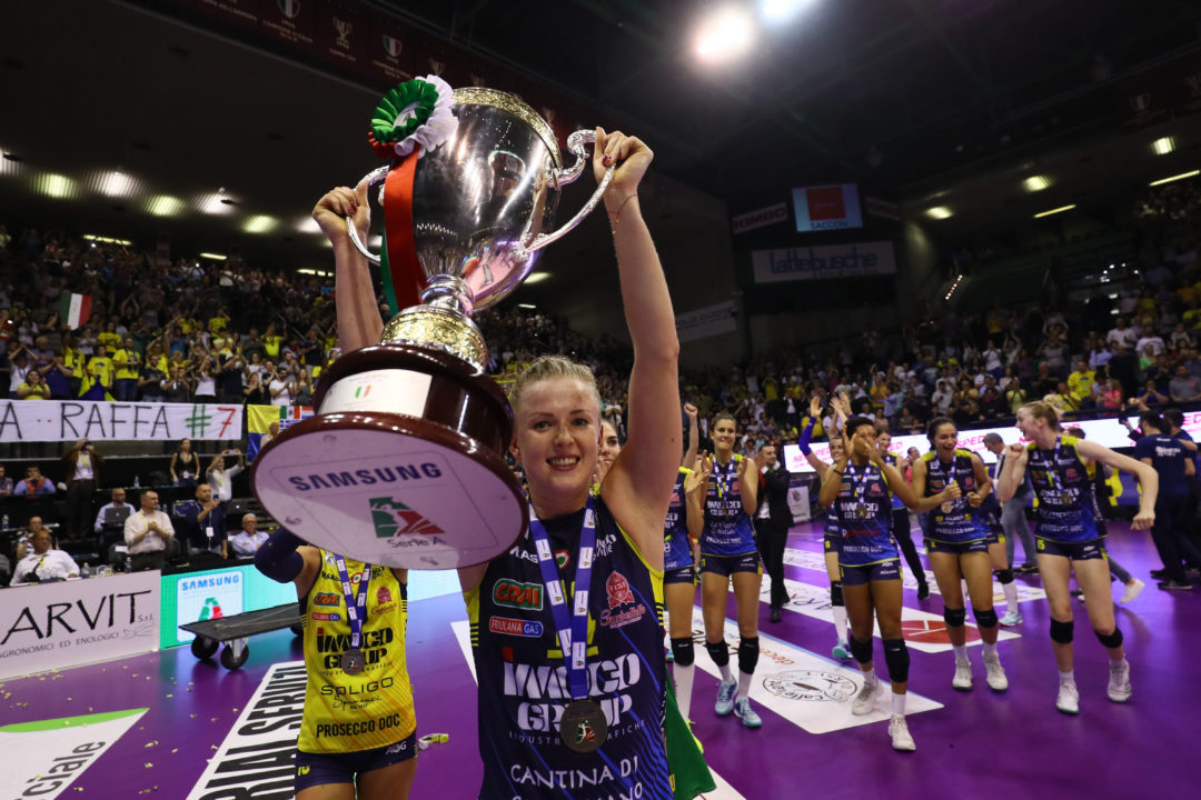 Joanna Wolosz, A1 Final`s MVP, Extends Contract With Imoco Conegliano