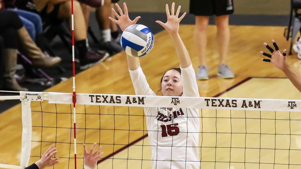 2016 AVCA All-American Aggie Kaitlyn Blake Medically Retires