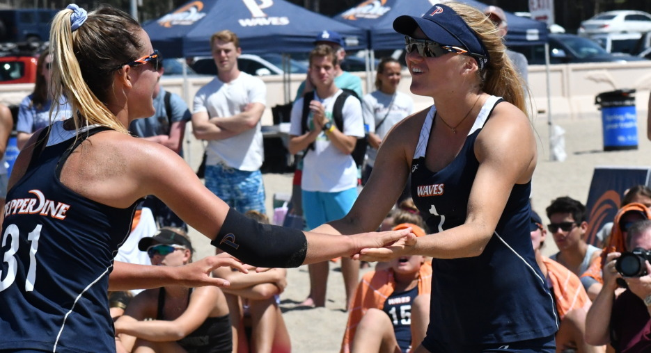 Pepperdine Sweeps WCC Beach Yearly Awards