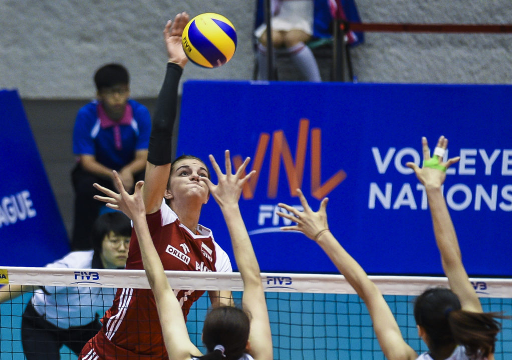 Poland Upsets Top-Seeded China, Serbia Downs Thailand in #VNL Pool 6