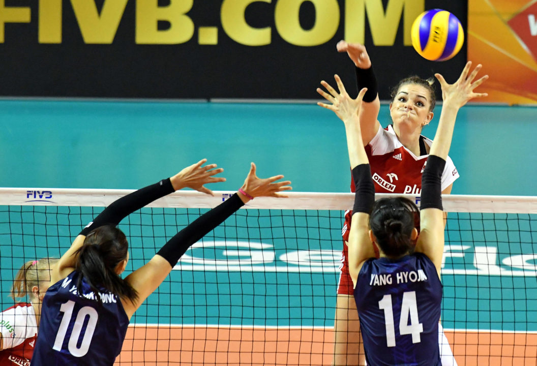 Poland's Malwina Smarzek Cracks 30 Points Twice in Week 2 of #VNL