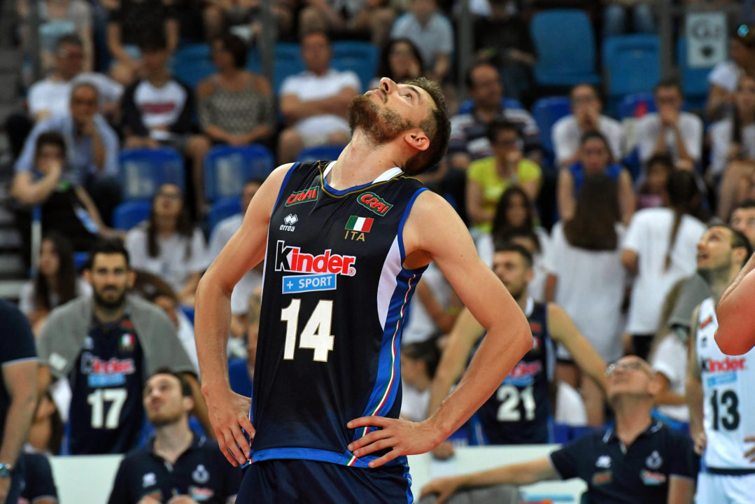 Italian Middle Blocker Matteo Piano Undergoes Achilles Surgery