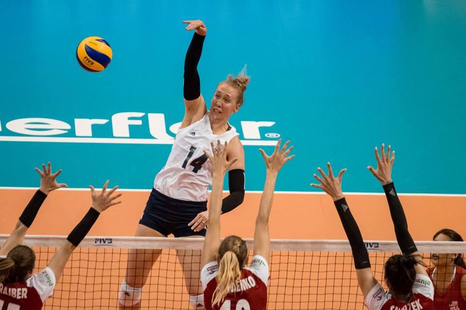 USA Sweeps Japan, Netherlands Edges Belgium in 5 to Open #VNL Week 2