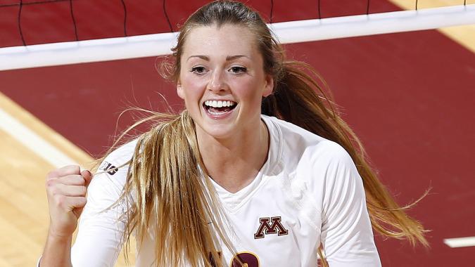 Former Minnesota MB Molly Lohman Headed to TCU Beach for Final Season