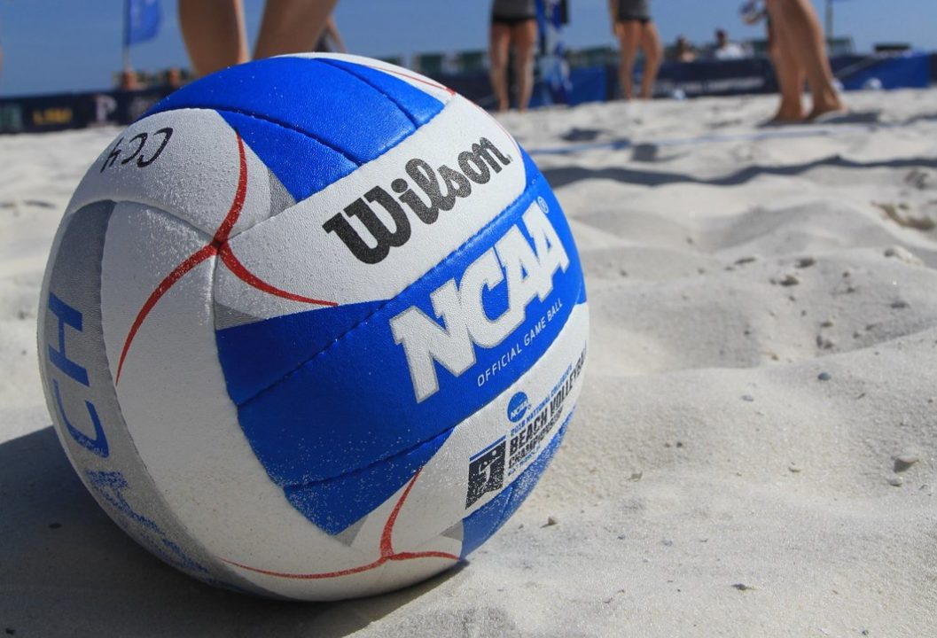 Seeds Hold In First Four NCAA Beach Matches, UH's Hall Earns 100th Win