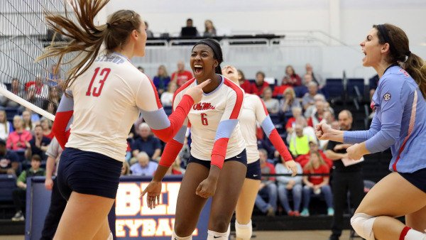 2018 Ole Miss Slate Includes Nine Matches vs. NCAA Tourney Teams