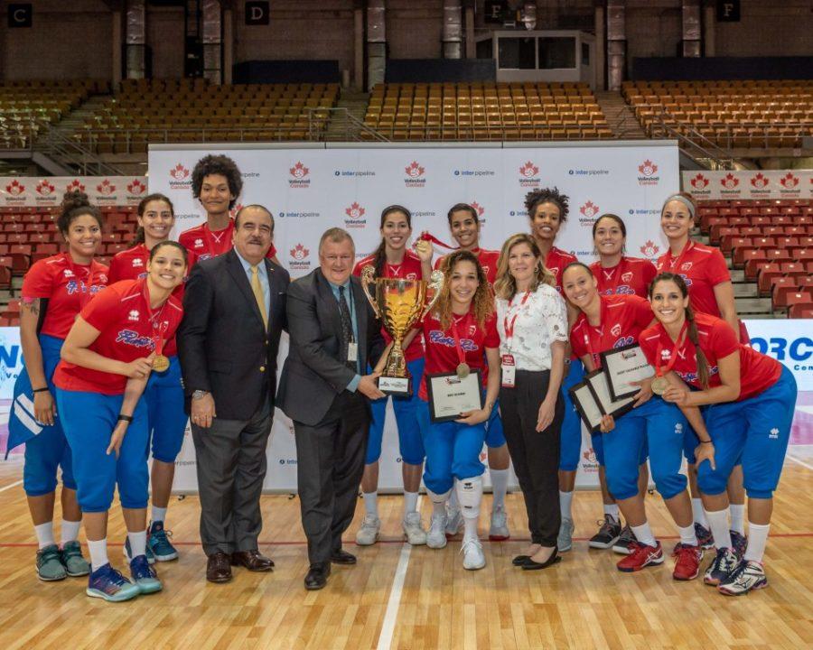 NORCECA Women's Challenge Cup: Puerto Rico Downs Canada for Gold, Cuba Wins Bronze