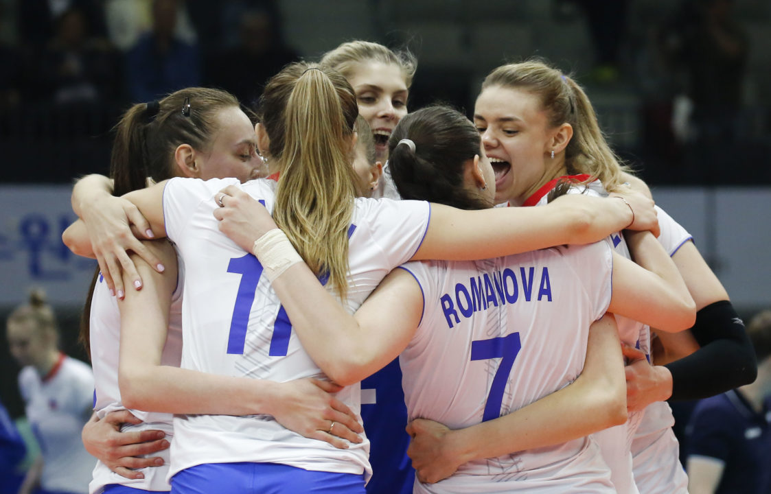 Russia, South Korea Open #VNL Pool 7 With Wins
