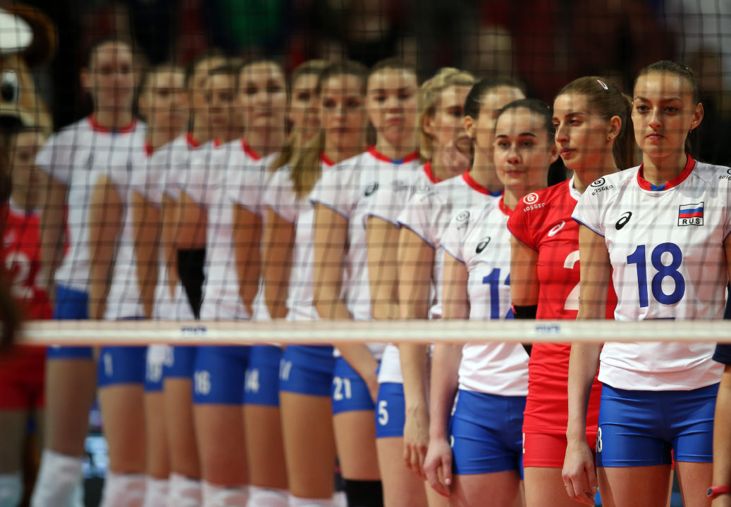 Russia Plays Poorly, Narrowly Beats Thailand – VNL Day 2 Pool 1 Recap