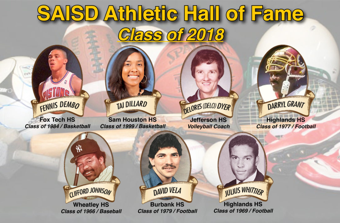 """Late Coach """"Delo"""" Dyer Inducted into San Antonio ISD Hall of Fame"""