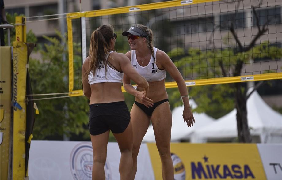 USA's Scarbrough/Davis, Japan's Ishijima/Takehashi Win Bangkok Gold