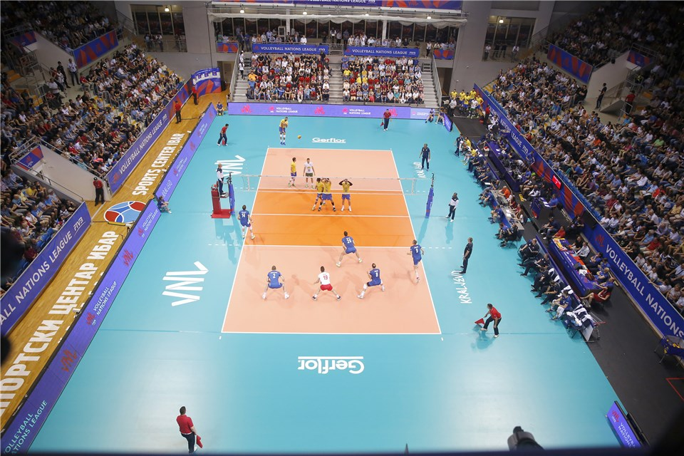Men's Volleyball Nations League Standings After Day 1