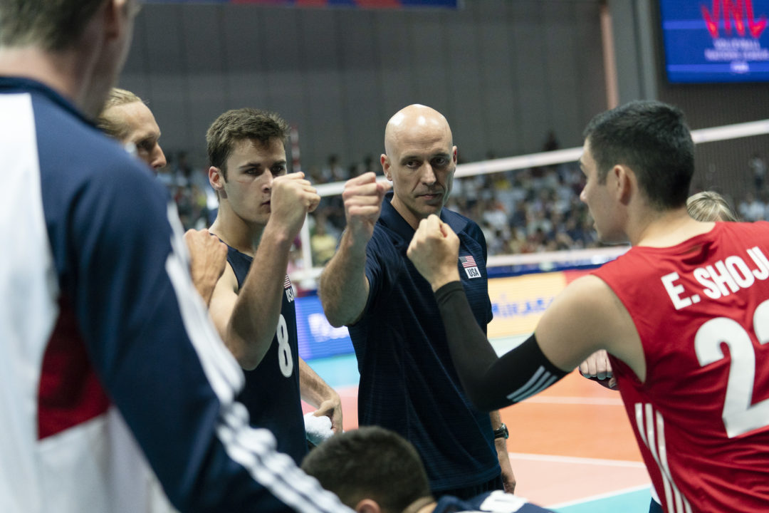 Sander, Patch, DeFalco Lead USA Men to #VNL Sweep of China