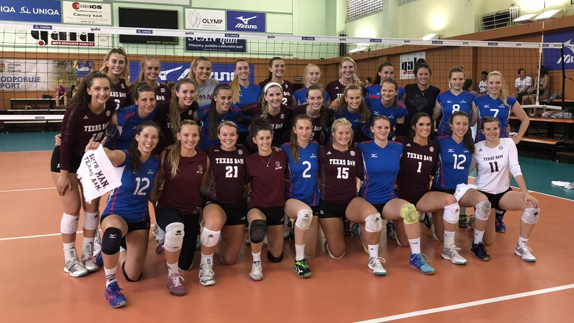 Texas A&M Bests Olmph Praha 2-1 in Prague