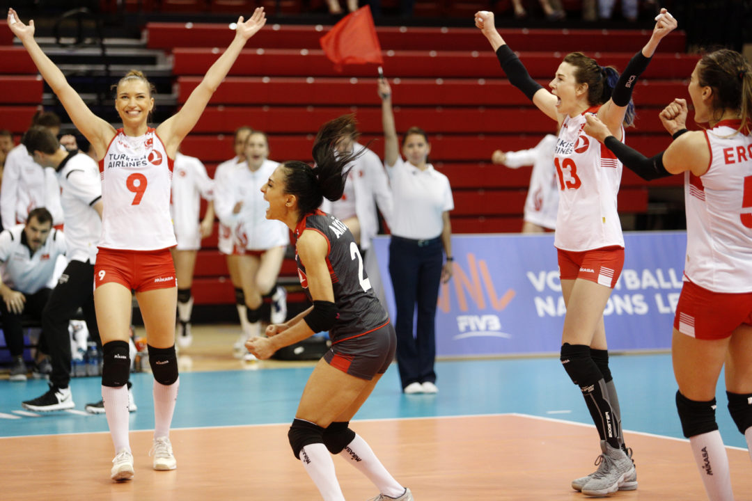 Turkey Notches Sweep of Italy in VNL Opener