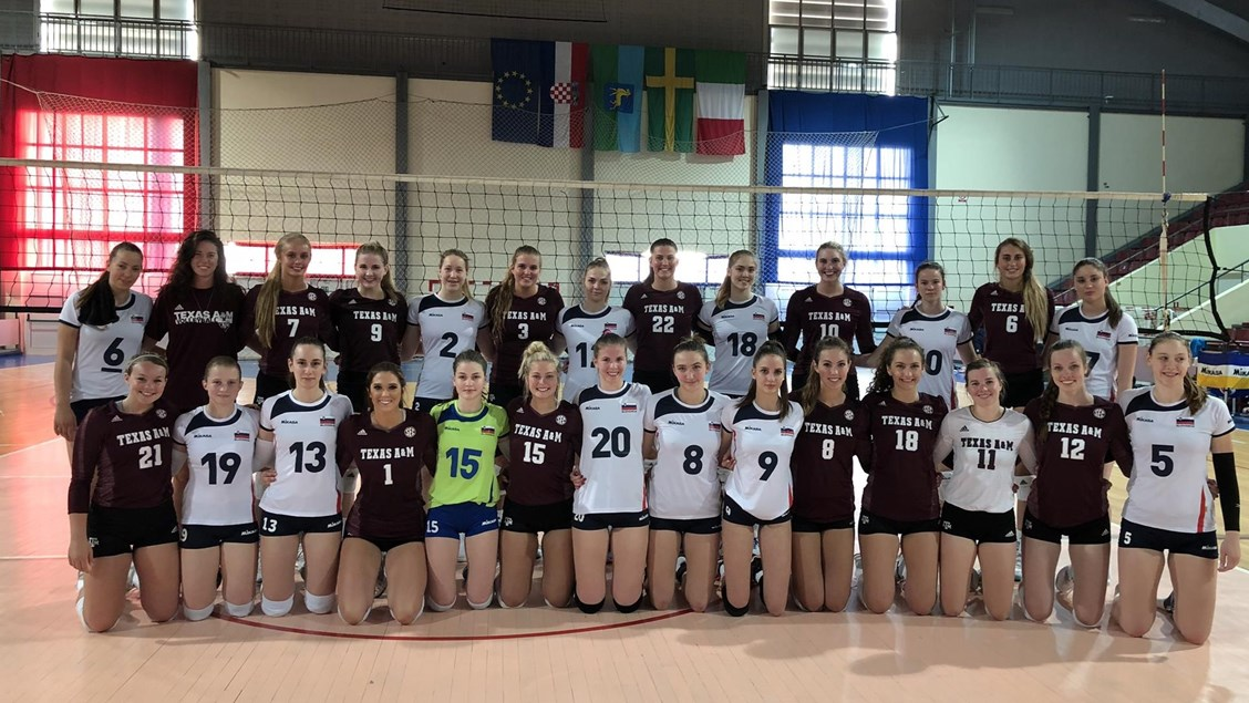 Texas A&M Tops Slovenian U19 National Team 3-1