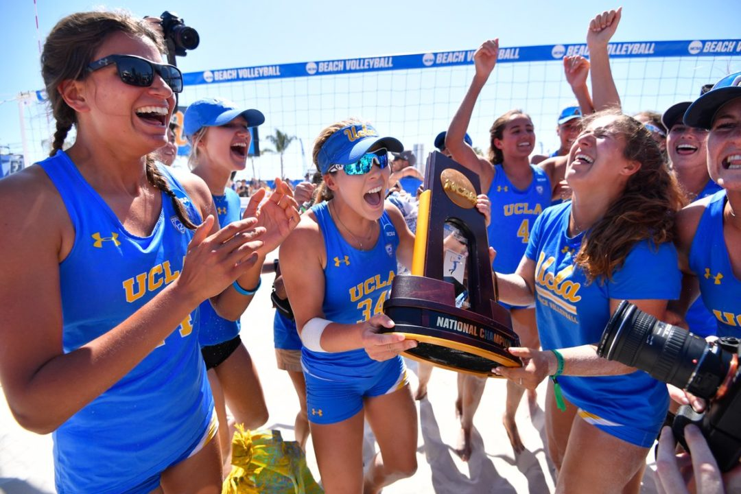 UCLA Bests Florida State 3-1 for NCAA Beach Title