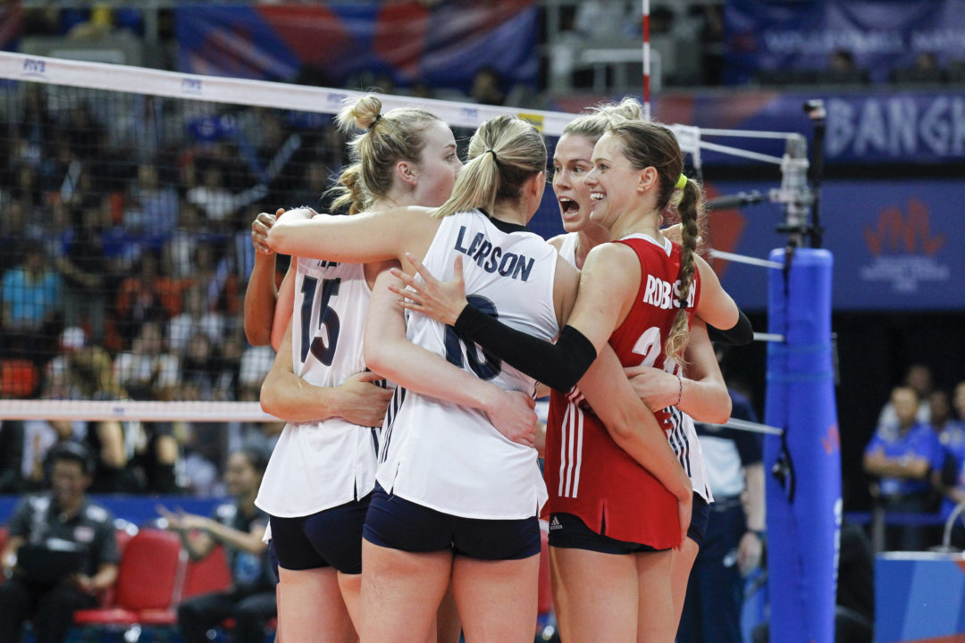 Balanced Attack Leads USA Women Past Thailand in Sweep