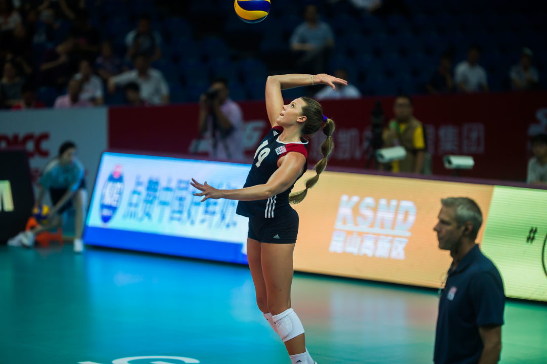 American Hannah Tapp to Sign With Volley Bergamo