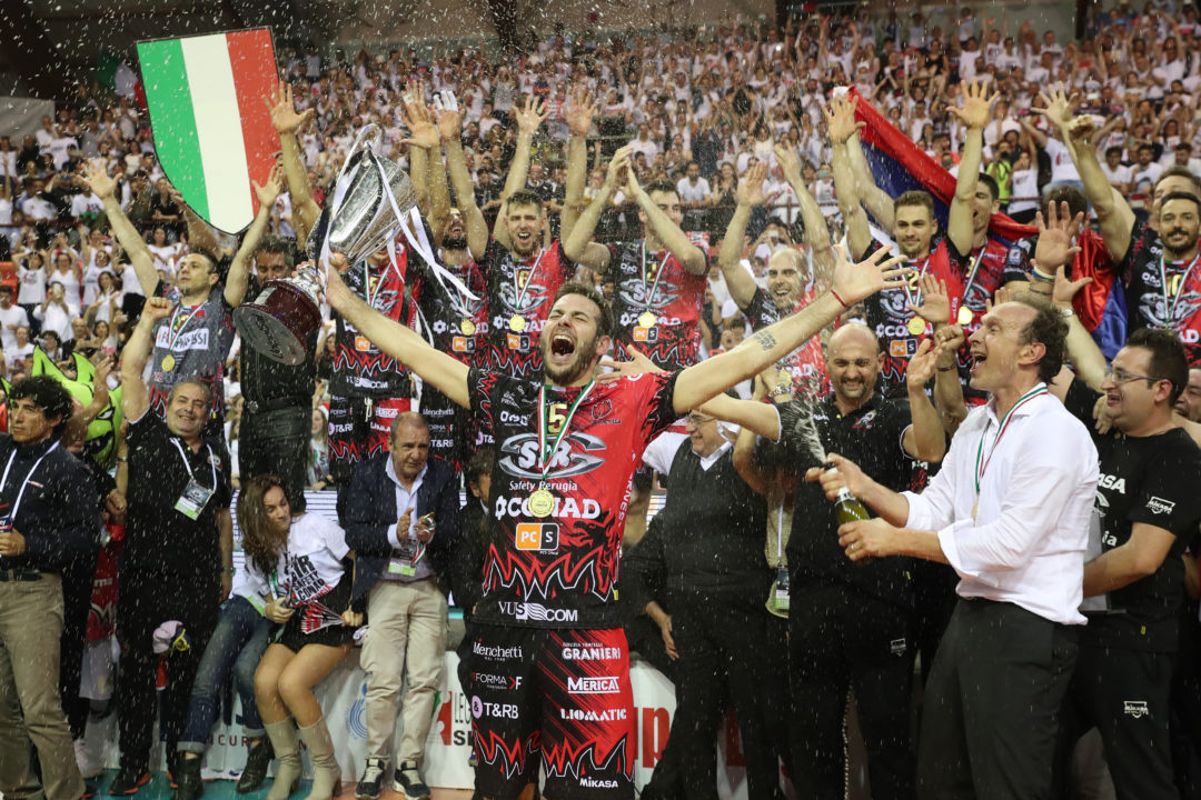 Perugia Win First Italian SuperLega Title In Franchise History