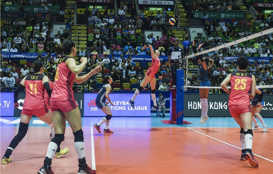 Japan Edges Italy in 5 Sets; China Sweeps Argentina in VNL Pool 12