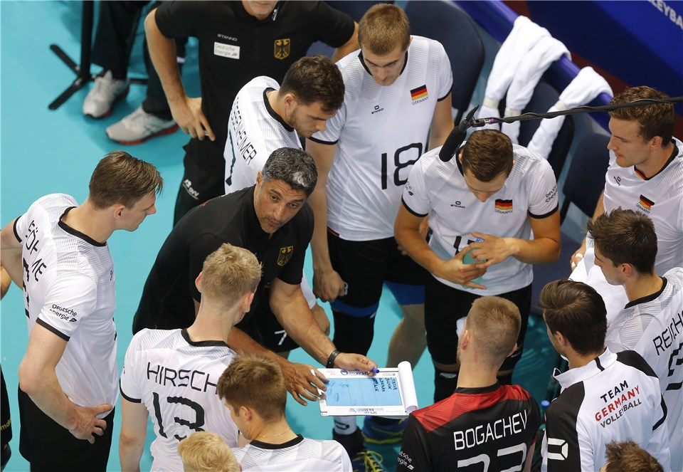 Are VNL Struggles a Part of German Coach Gianni's Plan?