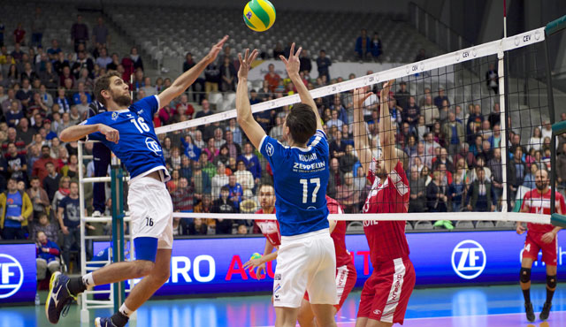 Scott Kevorken Leaves Germany, Signs With Tours VB