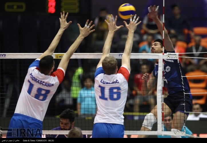 First Game for Iran at the FIVB Volleyball Men's Nations League
