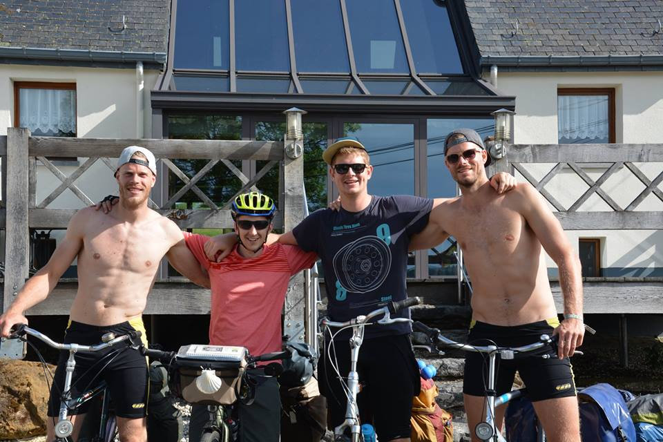 Pieter Verhees Goes On Bike Pilgrimage To Help Raise Money For Charity