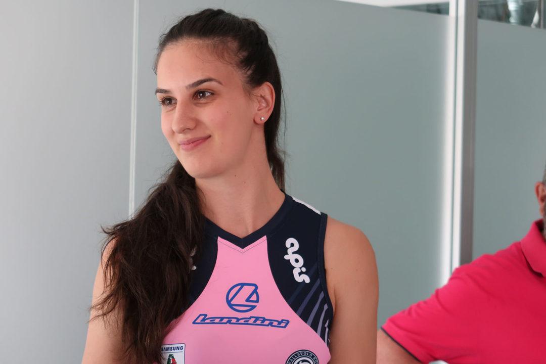 Serbian Setter Danica Radenkovic Joins Pomi Casalmaggiore